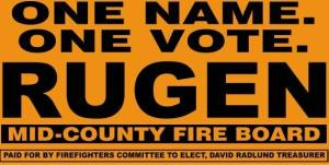 "Jeremy Rugen's slogan: ""One name. One vote."" is resonating throughout Camden County in response to 'business as usual'."